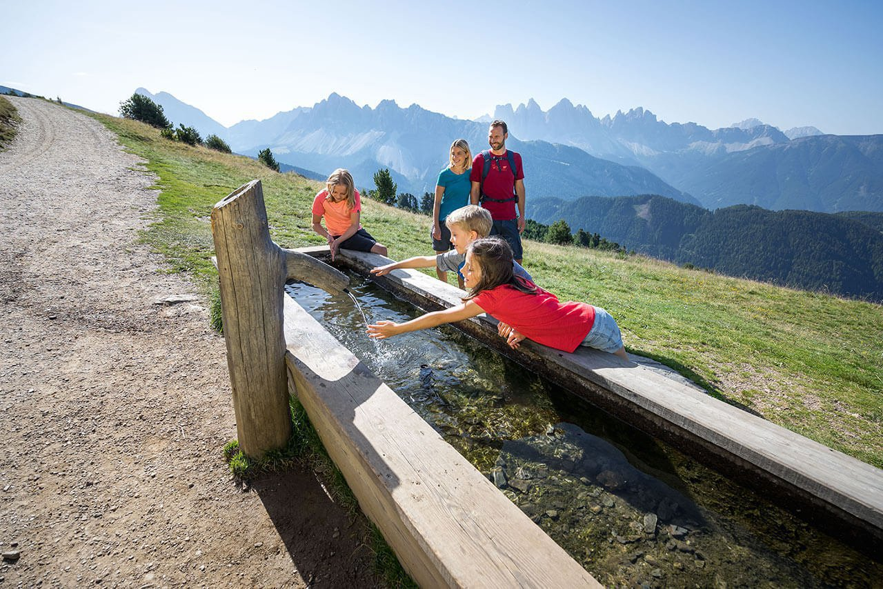 Family holidays on the farm in Bressanone/South Tyrol