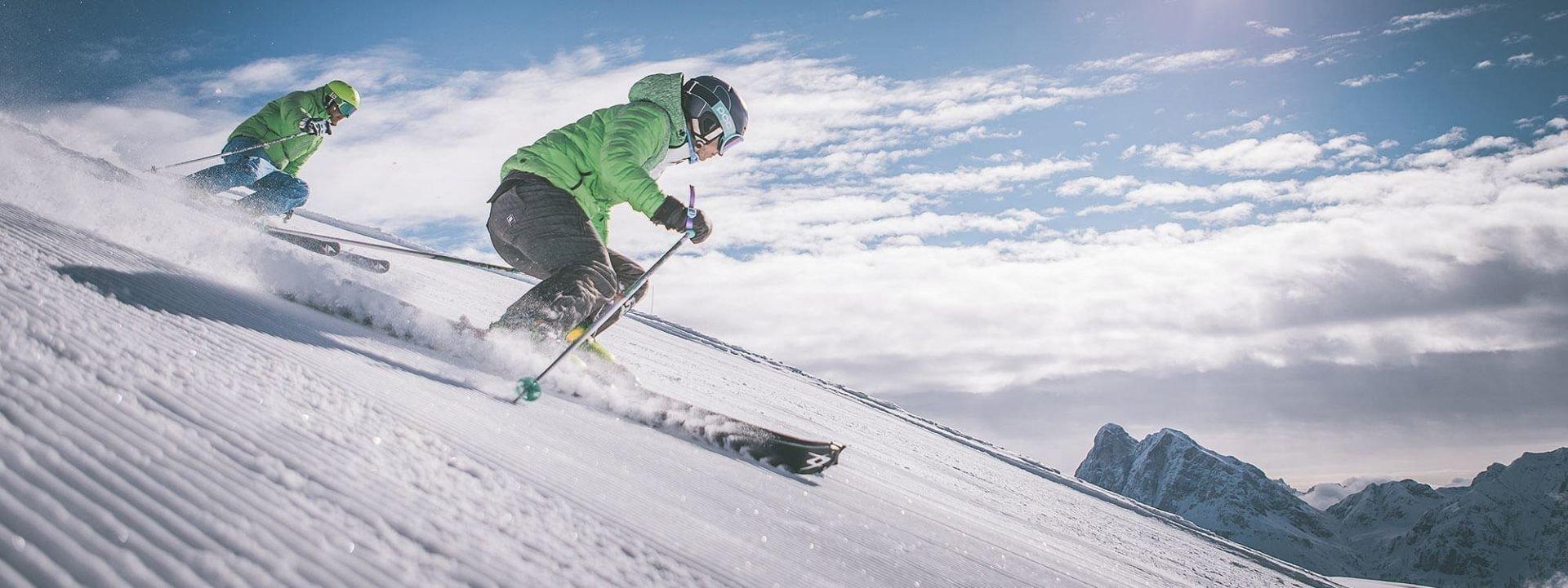 Hoferhof Brixen | Skiing in the Plose ski area in the Dolomites World Heritage Site